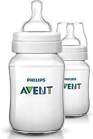 Philips Avent 9430151 Klasik + Pp Biberon, 260 Ml, 2'Li, Şeffaf
