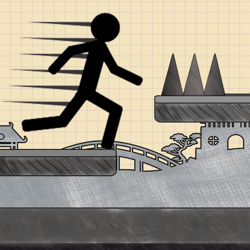 Stickman Jump: Doodle fun game (Rope N Fly)