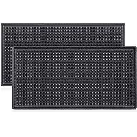 Noverlife Salon de Coiffure Station de Travail Tapis de Sol Lourd PVC Souple Permanence Anti Skid Bar Coussin Mat…