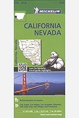Michelin USA California, Nevada Map 174 Map