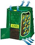Juwel Premium Komposter Aeroquick 890 XXL (geschlossen, mit Scharnierdeckel, UV-stabil, Nutzinhalt: 900 l) 20157