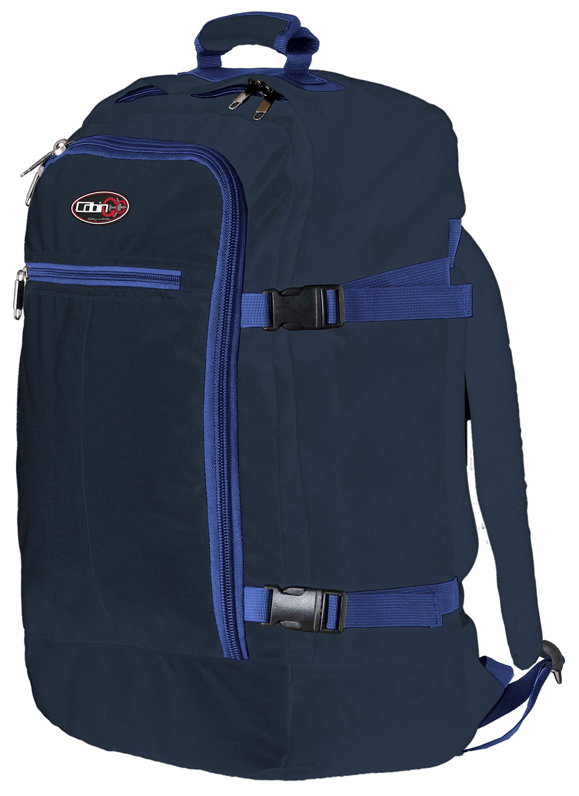 81cKNuLDVHL - CABIN GO Mochila cod. MAX 5540 equipaje de mano/cabina de viaje, 55 x 40 x 20 cm, 44 litros de vuelo IATA aprobados/EasyJet/Ryanair