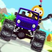 Monster LKW Hügel Kunststück Auto