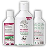 Dog Shampoo & Conditioner 500ML | Anti-Bacterial Anti-Fungal | Calms & Soothes Itchy Dog Skin | Restores Hairs | Remove Bad O