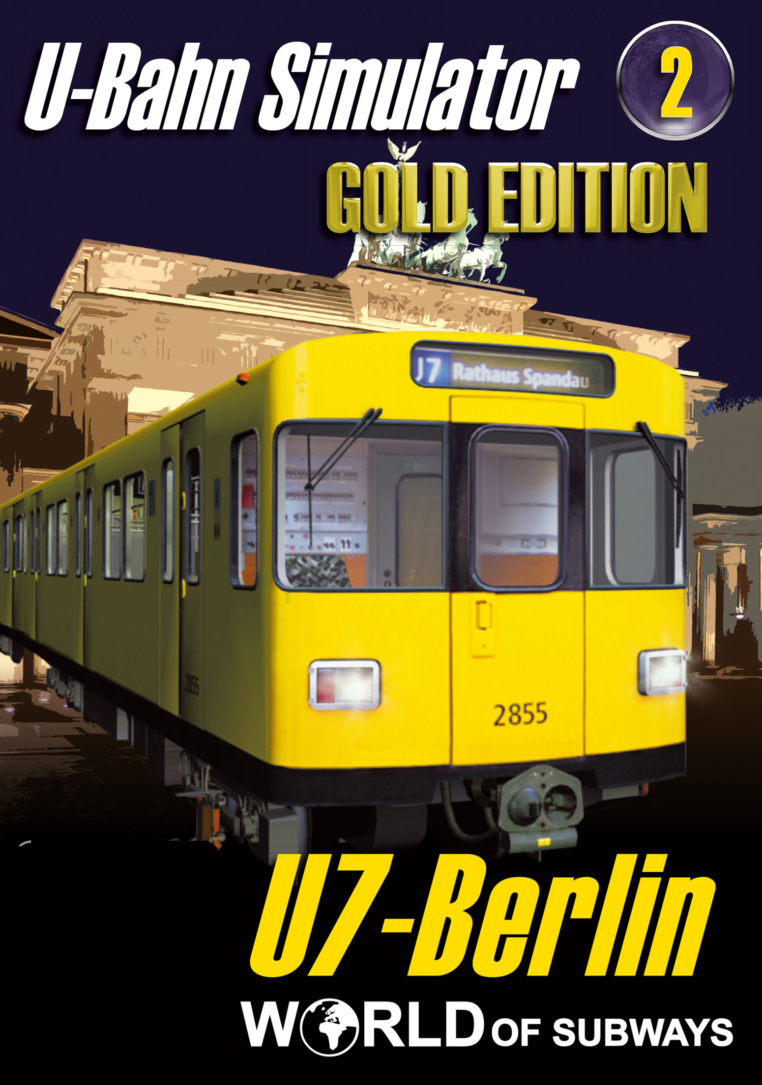 World of Subways Vol. 2 - Berlin U7 - GOLD EDITION [PC Code - Steam]