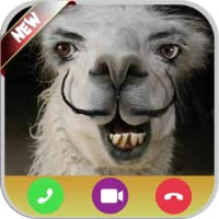 Scary Llama Calling You - Free Fake Phone Calls And Free Fake Text Message ID PRO - PRANK FOR KIDS 2020
