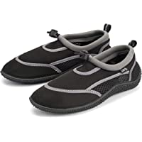 Urban Beach Kids Aqua Surf Wetsuit Shoes for Boys and Girls, Beach Swimming Water Socks with Adjustable Fastener