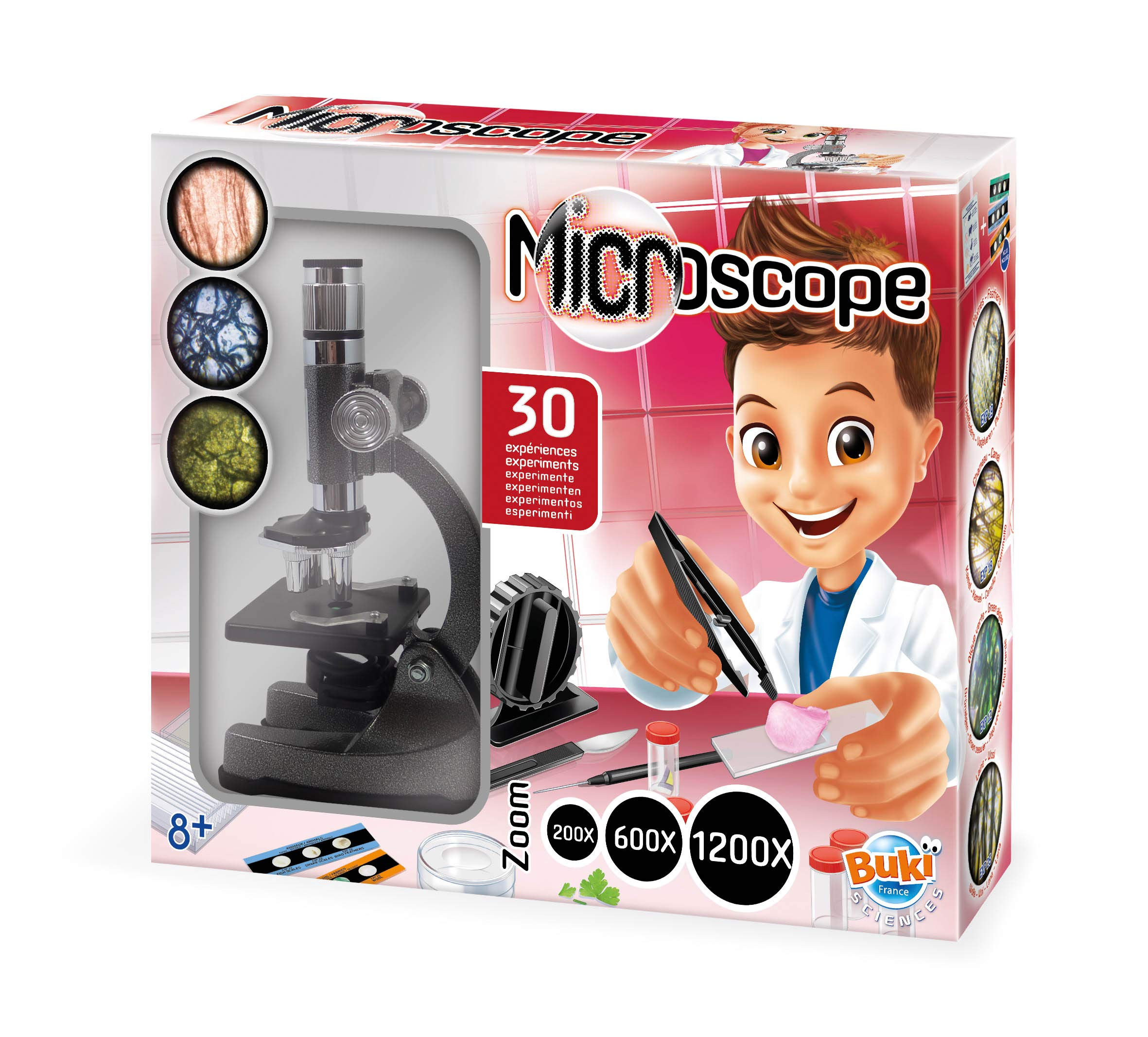 Buki France MS907B – Microscopio 30 Experimentos