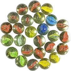 NPRC 50 Pcs Supreme Marble Glass Playing Balls