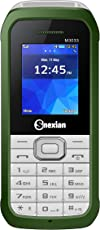 Snexian M3033 Feature mobile Phone With DUAL SIM, 1.8 inch, Open FM, 1000 mah Battery, BLUETOOTH, VIBRATION, CAMERA,upto 16 GB Expandable memory, BIS CERTIFIED & 1 YEAR (Green)