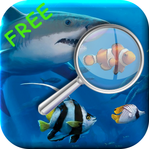 Tropical Fish Find Differences Kids Game Free