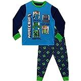 Minecraft Pijamas de Manga Larga Steve y Creeper para Niños