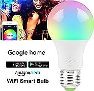 Smart LED Bulb E27 Remote Control Color Adjustable Light Works with Amazon Alexa/Echo Google Home/Assistant IFTTT 220V/230V 1