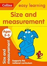 Size and Measurement Ages 3-5: New Edition (Collins Easy Learning Preschool)