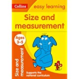 Size and Measurement Ages 3-5: Ideal for home learning