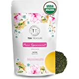 TeaTreasure USDA Organic Spearmint Herbal Tea for PCOD and PCOS - 100 Gm - Cure Facial Hair and Acne Due to Hormonal…