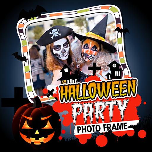 Halloween Party PhotoFrame