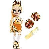 "Rainbow High Cheer Fashion Doll - Abiti eleganti, pompon e bambola cheerleader Poppy Rowan, fashion doll ""arancione…"