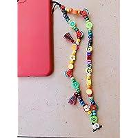 """Phone strap perline charm""""Watermelon"""", personalizzato con lettere e nome. Porta cellulare da polso e gioiello per il tuo…"""