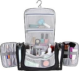 Lifewit Beauty Case da Viaggio,Grande Capacità Borsa da Toilette Multitasche Borsa da Viaggio Impemeabile Appendibile con Gancio per Donna & Uomo, Adatto Per Cosmetici, Accesori da Viaggio