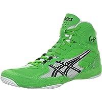 ASICS Men's Cael V5.0 High-Top Fabric Wrestling Shoe