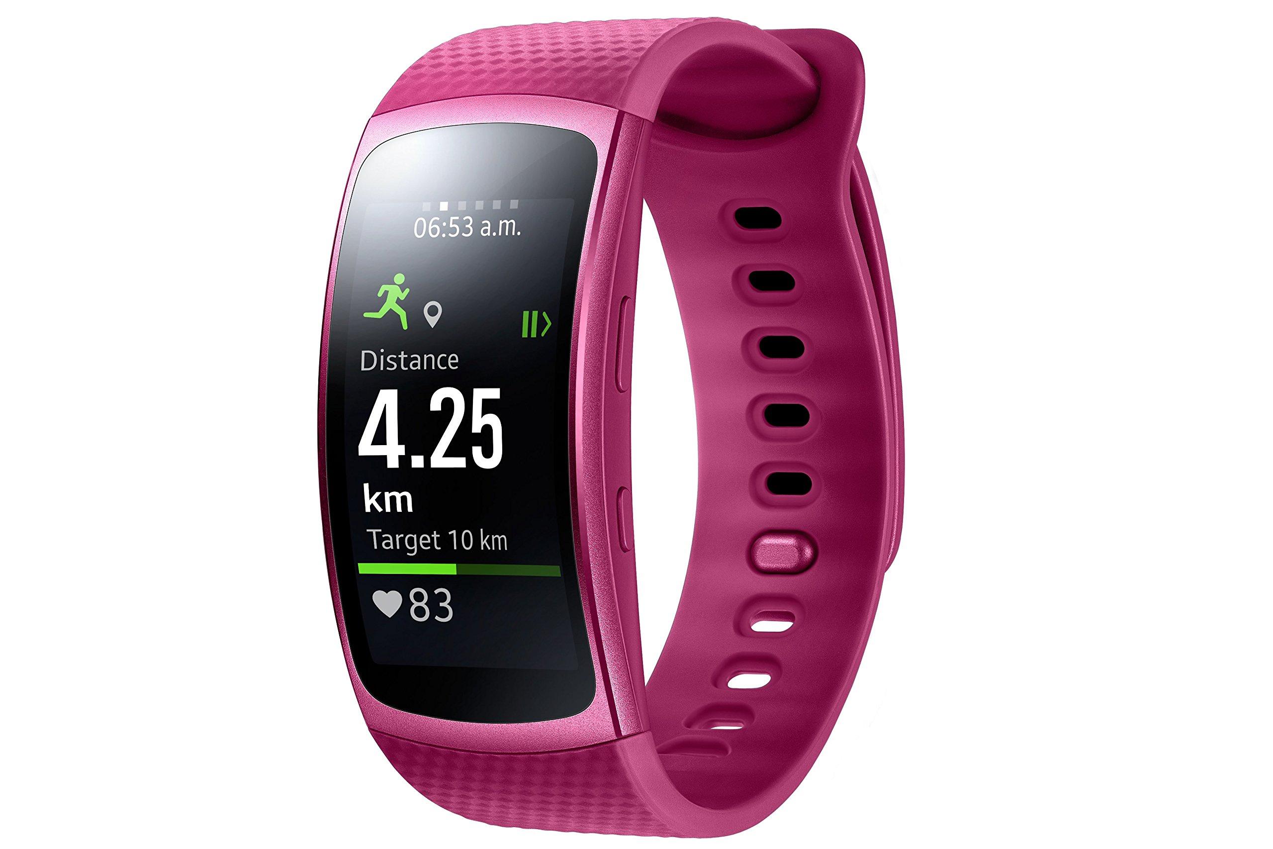 Samsung Gear Fit II – Smartwatch de 1.5″ con frecuencia cardíaca