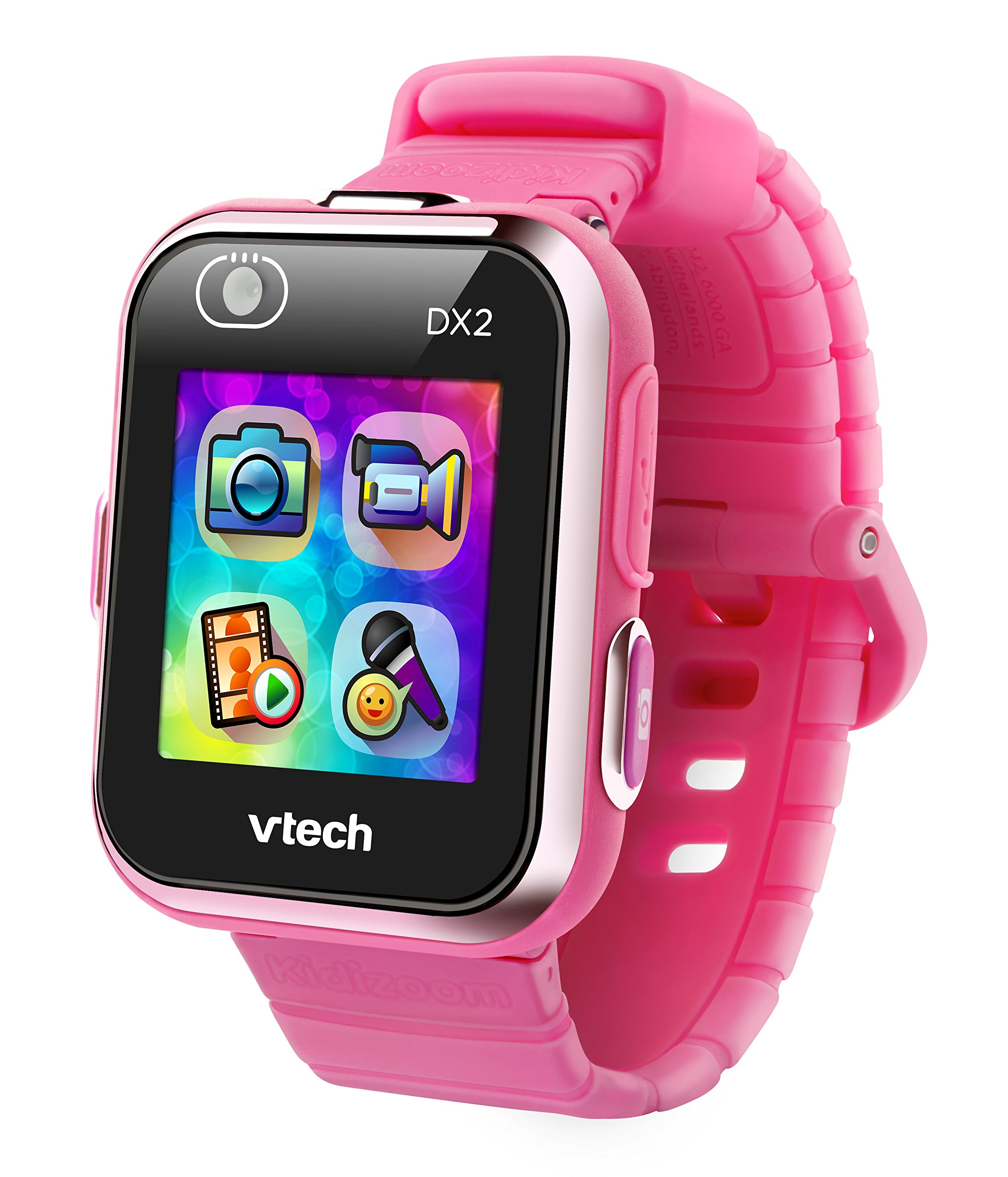 VTech Kidizoom Smart Watch DX2 - Reloj inteligente para niños, color rosa, versión Alemana (80-193854) 2