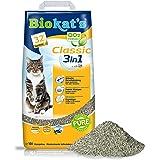 Biokat's Klasyczny zestaw 3 w 1 z formułą bez zapachu - grudąca się zbierać śmieci dla kota z 3 różnymi rozmiarami słojów - 1