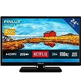 Finlux FL2423SMART 61 cm/ 24 inch televisie (Smart TV met ingebouwde WiFi, HD Ready, 1366 x 768, 2x HDMI)