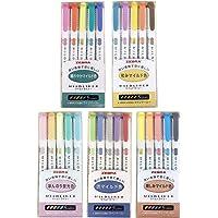 Zebra Mildliner - Lot de 25 surligneurs de couleur pastel