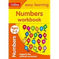 Numbers Workbook Ages 3-5: Collins Easy Learning: Prepare for Preschool with easy home learning (Collins Easy Learning…