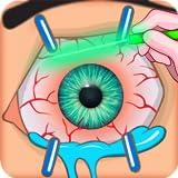 kleiner Augenchirurgie-Simulator - Doktor-Spiel