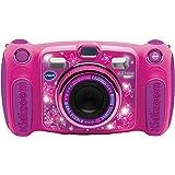 Vtech Kidizoom Duo 5.0Digitale Kamera für Kinder, 5MP, Farbdisplay, 2Objektive, Pink Französische Version Rosa