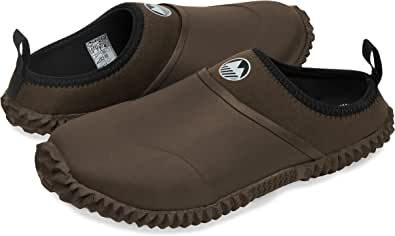 Lakeland Active Men's Appleby Backless Gardening Clogs with Neoprene Lining & Memory Foam Insole