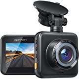 APEMAN Mini Dash Cam 1080P Full HD, Dash Camera for Cars with Super Night Vision, 170° Wide Angle, Motion Detection, Parking