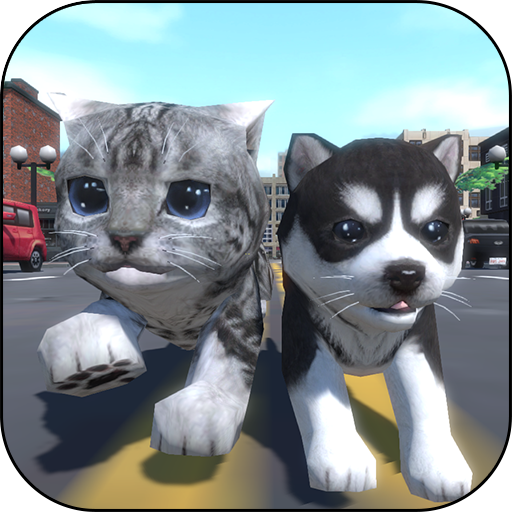 cute-pocket-cat-and-puppy-3d