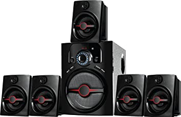 IKALL 5.1 Channel Multimedia Home Theater System(Black)