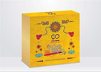 Happy Rakhi (Yellow) Assorted Chocolate Gift Box, 100g