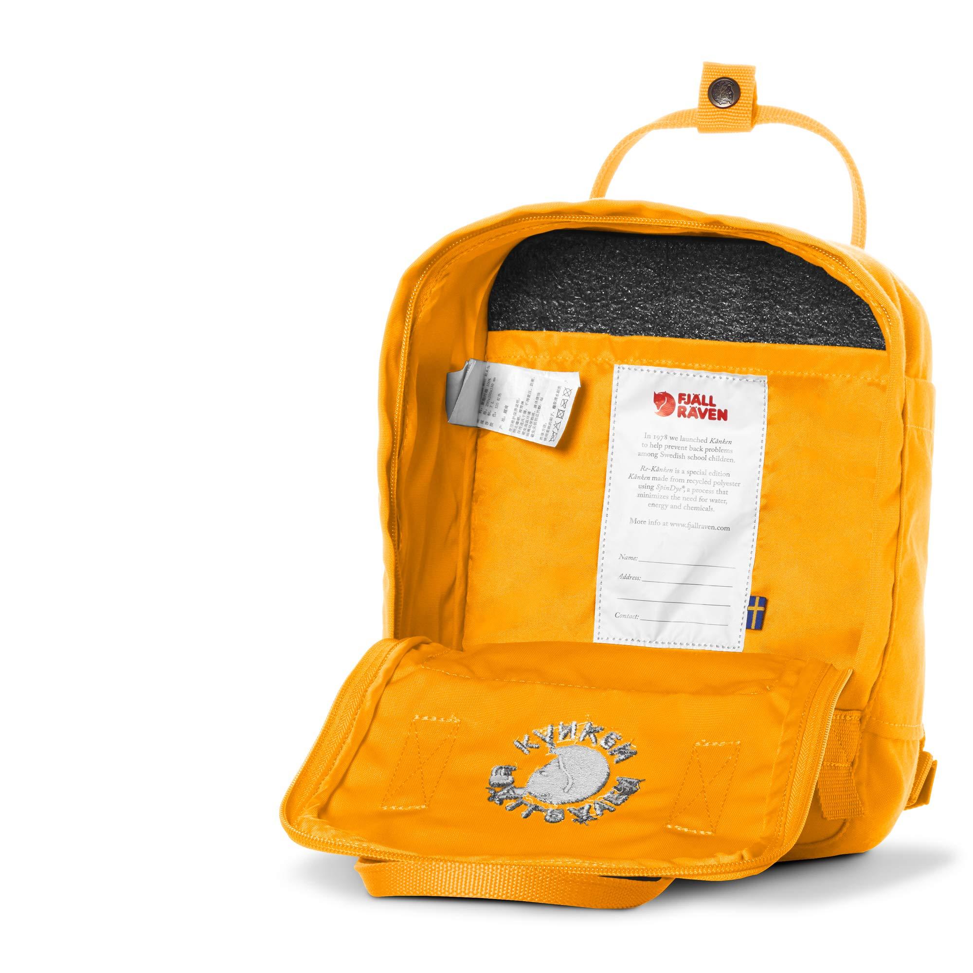 Fjllrven Re Knken Mini Rucksack Sunflower Yellow 29 X 20 13 Fjallraven Kanken Classic Cm Yu Thch