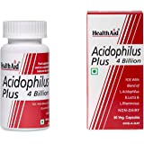 HealthAid Acidophilus Plus (4 Billion) - 60 Capsules