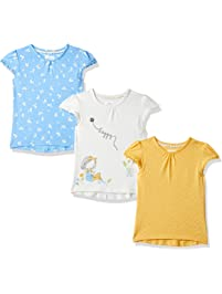 90522b943 Mothercare Girl's Daisy and Spot T-Shirts – 3 Pack T - Shirt