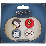 Set 4 pin Harry Potter surtido