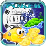 Deep Fish Poker Classic Free for Kindle Underwater Fish Adventures Game Free Casino Games for Tablets New 2015 Poker Game Free for Kindle