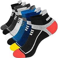 Onmaita Running Socks for Men Women, 6 Pairs Cushioned Trainer Socks Athletic Ankle Socks, Low Cut Anti-Blister…