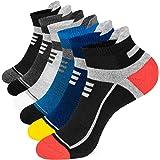 Onmaita Chaussettes Basses Hommes et Femme,6 Paires Chaussettes de Sport en Coton Running s Respirantes Chaussettes de Chevil
