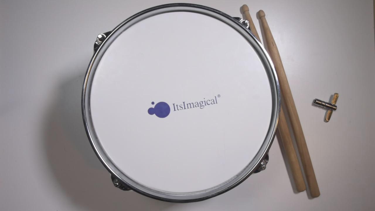 ItsImagical - Conservatory tambor, tambor de metal para niños de color rojo (Imaginarium 76087): Amazon.es: Juguetes y juegos