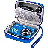 Bolsa para cámara digital compatible con AbergBest 21 Mega Pixeles LCD de 2,7 pulgadas recargable HD vídeo digital para estud