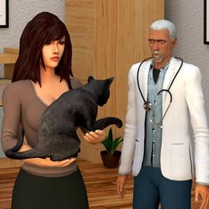 cirugía mascota: Simulador virtual de mascotas: hospital veterinario juegos de animales para niño...