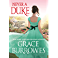 Never a Duke (Rogues to Riches) (English Edition)