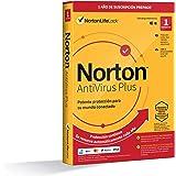 Norton Antivirus Plus 2021 - Antivirus software para 1 Dispositivo y 1 año de suscripción con renovación automática, para PC